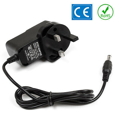 Zoom AD-0006 Guitar Effects Pedal Power Supply PSU Replacement Adapter UK 9V