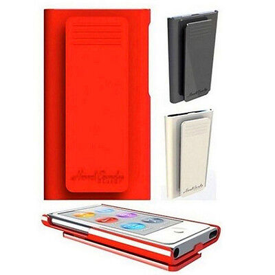 Fashion Smooth hard case with belt clip skin cover for Apple ipod nano 7 7th gen