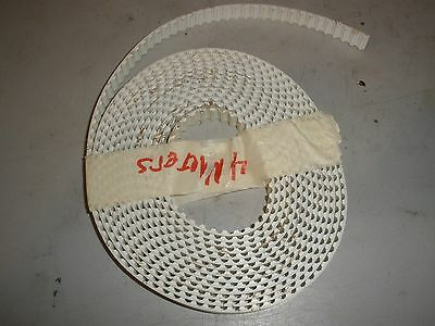 Timing Belt Pulley 16T x 10mm Wide x 4 Meters Long