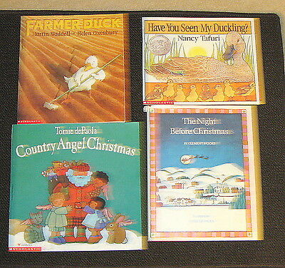 Lot of 4 Childrens Books Hard and Soft covers