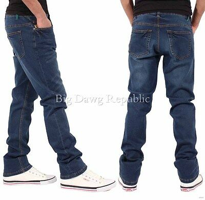 G-King Mens Boys Slim Super Star Stretch Fit Jeans Is Time Money Hip Hop