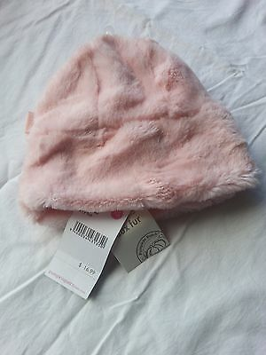 Bnwt Pumpkin Patch Vintage Glamour Pink Icing Furry Hat, Mix & Match To Save!