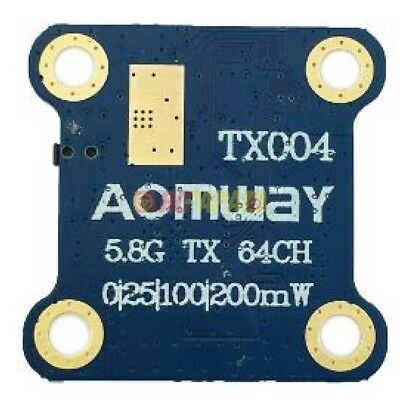 NEW Aomway TX004 mini 5.8G 25mw/100mw/600mW Switchable FPV QUAD Transmitter Tx