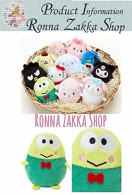 Brand New Japan Licensed Sanrio Original Easter Egg Kerokerokeroppi stuffed toy