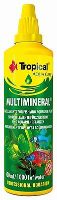 Tropical Multimineral, Mineral Supplement For Fish, Live Plants In Aquarium