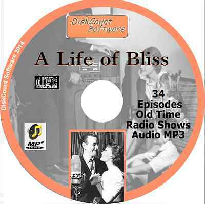A Life of Bliss  - George Cole 34 Old Time Radio Shows - Audio MP3 CD