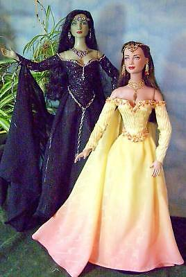 """""""MORGANA"""" A SEWING PATTERN FOR 15-16"""" DOLLS TONNER TYLER, WITCH, GENE"""