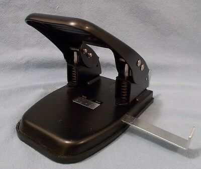"""Office Depot Business Two Hole Punch 1/4"""" Holes Item #825-307"""