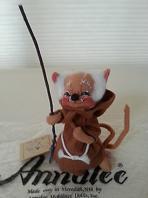 "Annalee Dolls 7"" Friar Tuck Mouse #2010 USA 1990"