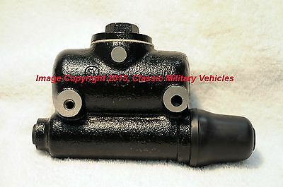 Willys MB Ford GPW Early CJ2A Brake Master Cylinder. New and High Quality.