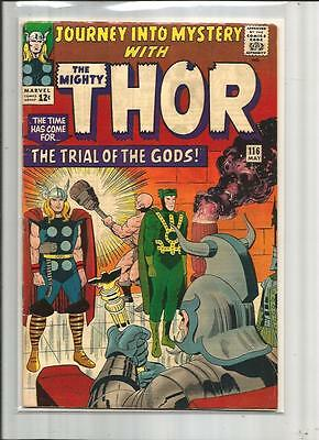 JOURNEY INTO MYSTERY #116 1965 FINE TO VERY FINE 7.0 THOR