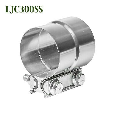 """3.00"""" 3"""" Torca Torctite Stainless Steel Lap Joint Band Exhaust Clamp TTOEM300SS"""