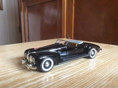 ZIS 101A SPORT USSR  retro car  1:43  Russian model 1/43 without a tent