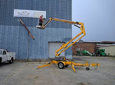 2011 Biljax 4527A Trailer Mounted Towable Electric Boom Lift - JLG NIFTY LIFT