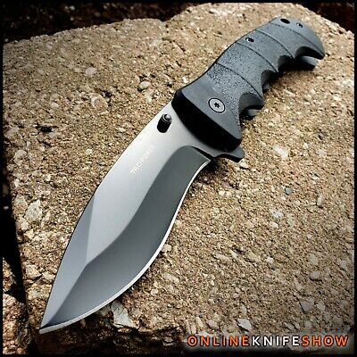 "9"" TAC FORCE BLACK SPRING TACTICAL RESCUE Assisted Pocket Knife Folding Blade"