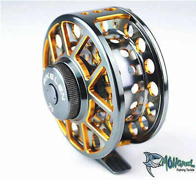 NEW Aluminium Fly Fishing Reel Trout Fishing #9/11 95 mm spool  Fly Fishing reel