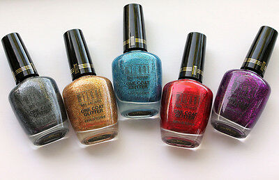 MILANI Specialty Nail Lacquer One Coat Glitter (CHOOSE COLOR) FREE GIFT W/ORDER