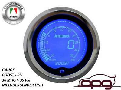 Performance Boost Psi 52Mm Lcd Gauge 7 Colour Lighting (1 Guage)