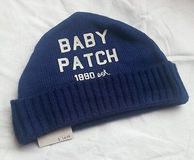 Bnwt Pumpkin Patch French Blue Knitted Beanie, Mix & Match To Save!!
