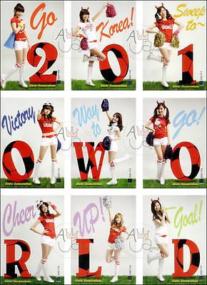 SNSD Girls' Generation Star Card Season 2 Official Common Card Full Set 45 Cards