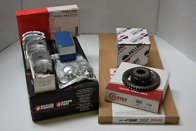 Mercruiser Chevy 4.3L 262ci 262 Engine Kit Pistons+MOLY Rings+Gaskets+Timing 1PC