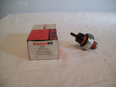 Motorcraft Oil Pressure Switch Sw-978 Ford #dohz-9278-A Many  Ford, Mercury