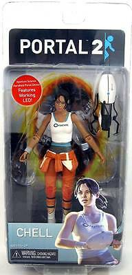 """PORTAL 2 - CHELL LIMITED EDITION 7"""" ACTION FIGURE - NIP"""
