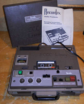 NICE*  RECORDEX MODEL 2851 CASSETTE SYSTEM w/ Manual