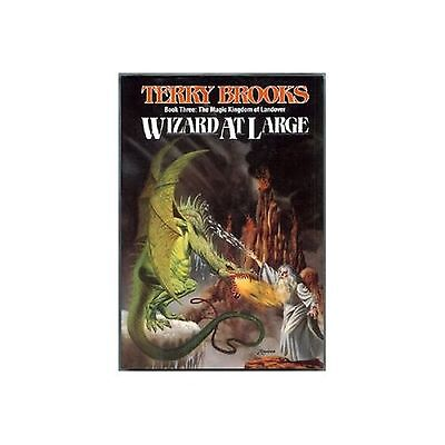 Wizard at Large by Terry Brooks (1988, Hardcover) 0345347730