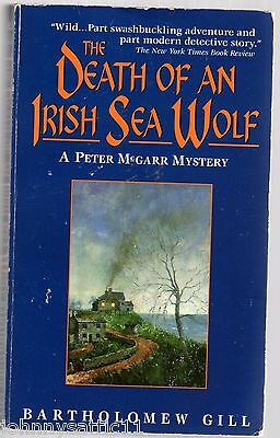 The Death of an Irish Sea Wolf by Bartholomew Gill (1997, Paperback, Reissue)