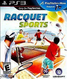 Racquet Sports  (Sony Playstation 3, 2010)brand new