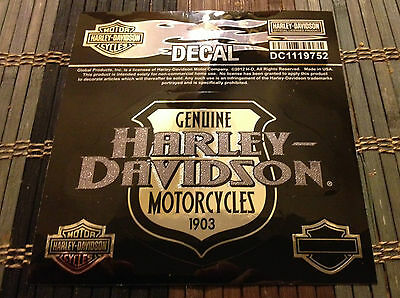 """NEW - Authentic - Harley Davidson Decal - """"Defense"""" - Item # DC1119752"""