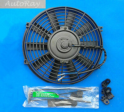 10'' 12V 10 inch 12 V Thermo Radiator Cooling Fan & Mounting Kits