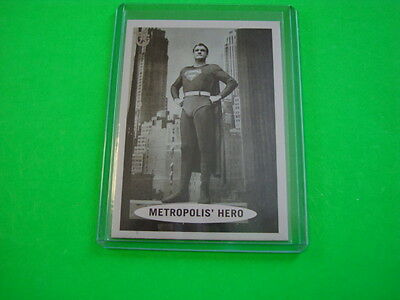 """2013 TOPPS 75TH ANNIVERSARY POP CULTURE """"SUPERMAN"""" BASE CARD #45"""