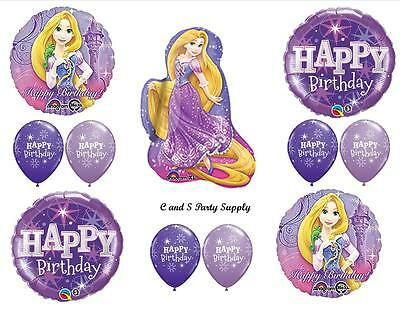 RAPUNZEL TANGLED HAPPY BIRTHDAY PARTY BALLOONS Decorations Supplies Princess