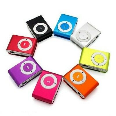 MP3 Player mini clip + USB Cable + Earphone Support Upto 8GB Micro uk post