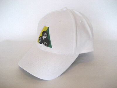 New! White Henselite Cotton Cap GREAT VALUE Now only $13!