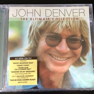 John Denver - The Ultimate Collection (CD 2012) NEW