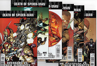 ULTIMATE DEATH OF SPIDER-MAN # 1 2 3 4 5 6 Full Set 1-6 VF/NM  Comics - Avengers