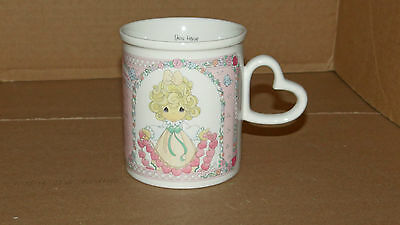 Precious Moments ~You Have touched So Many hearts~ Porcelain Mug Cup Enesco 1996