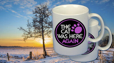 Arctic Cat snowmobile vintage style coffee mugs(2), The Cat was Here