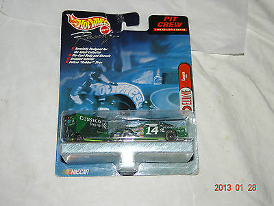 Nascar~Hot Wheels~Racing Pit Crew~2000~ToolBox ~1/64~Conseco~#14~Toy Car~27840