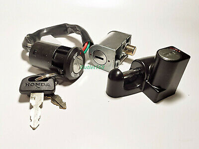Honda Cub 70 90 C70 Passport C90 C50 GB Z50 J Main Switch Steer Helmet Lock Set