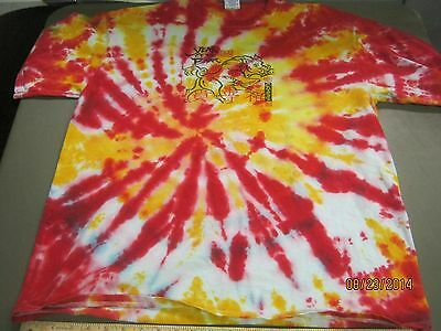 Tie Dye T-Shirt Adult XL Chinese Year of the Boar / Pig Shirt Free Shipping