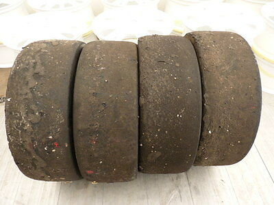 4X MITCHELIN WET SLICKS  20  61  17  TEST TRACK RACE CAR TYRES CLIO CUP STOCK 13