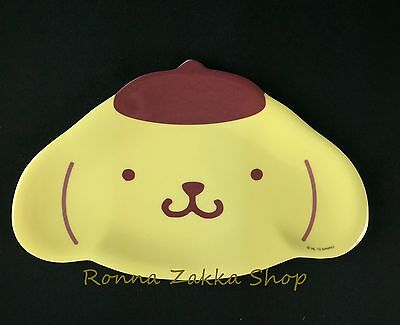 New Japan Licensed Sanrio Original Pompompurin Purin Dog resin dessert plate