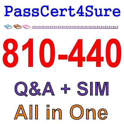 Adopting The Cisco Business Architecture Approach DTBAA 810-440 Exam Q&A PDF+SIM
