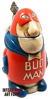 Bud Man 1975 Cs-1 Beer Stein Ceramarte Of Brazil