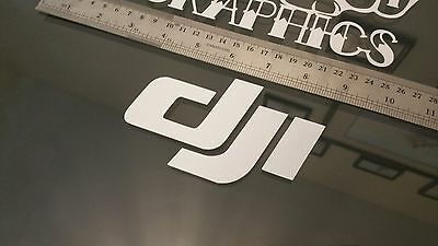 DJI VInyl Decal Sticker Drone Quad Copter RC Helicopter Inspire Phantom