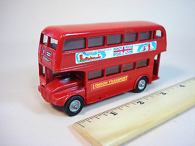 Corgi Budgie Harrods AEC Routemaster Double Deck Bus The London Transport